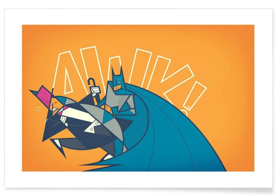 Batman, Films, Batman Awk affiche