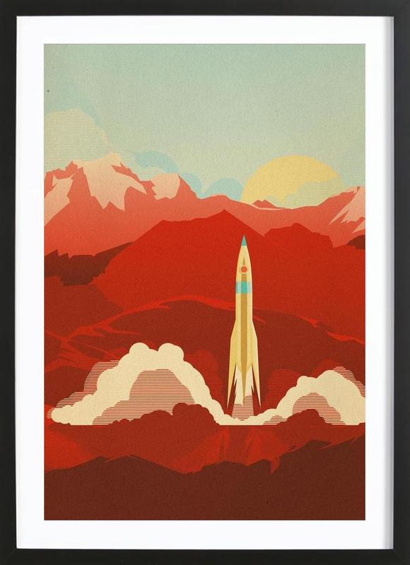 The Uncharted Framed Print