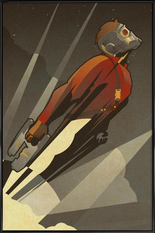 The Starlord -Bild mit Kunststoffrahmen