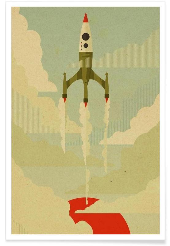 Kunst voor kinderen, Ruimteschepen en raketten, The Journey poster