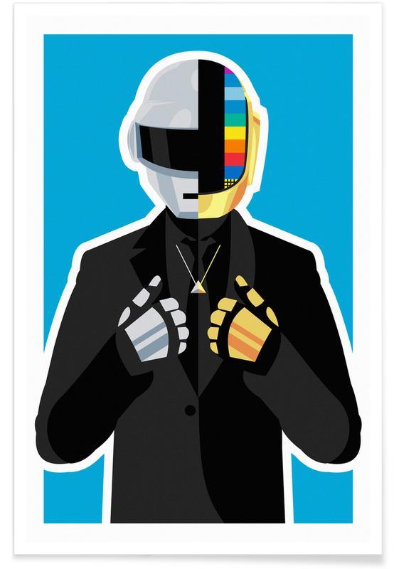 Daft Punk, Daft Punk -Poster