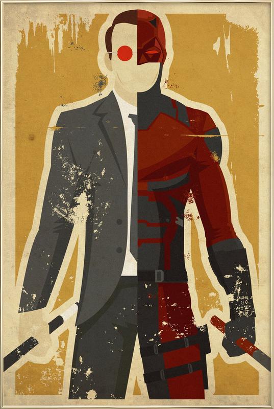 Daredevil poster in aluminium lijst