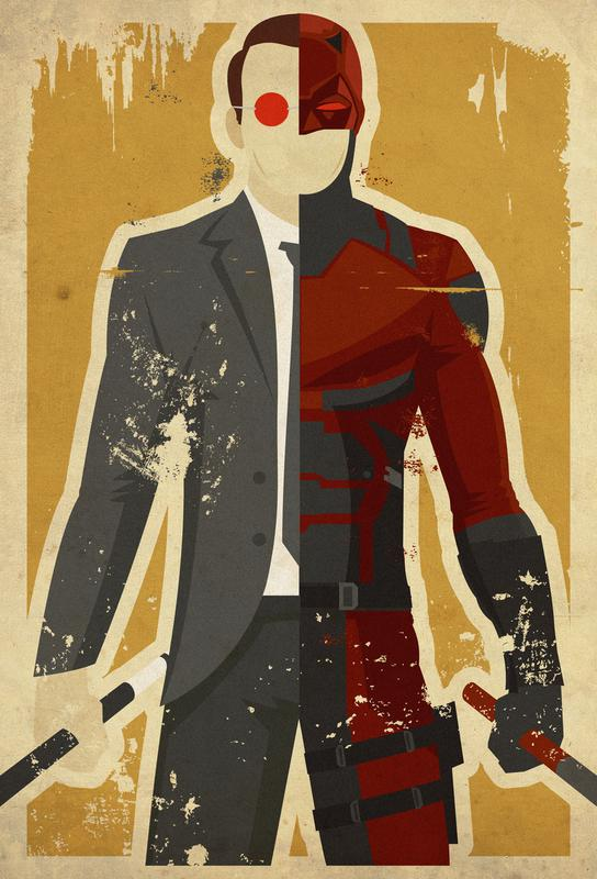 Daredevil acrylglas print