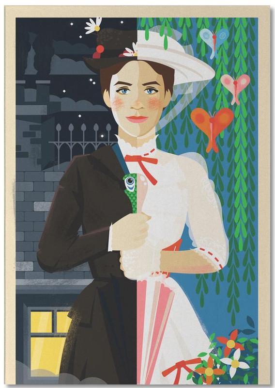 Mary Poppins -Notizblock