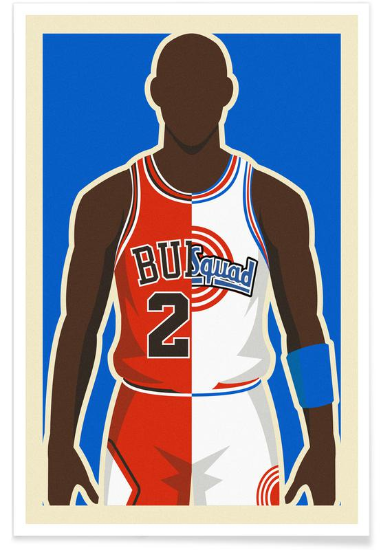 MJ Space Jam poster