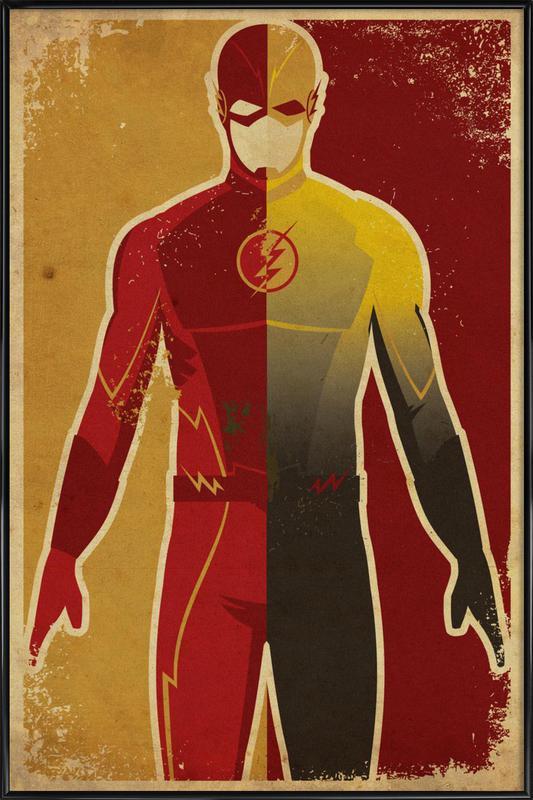 The Flash -Bild mit Kunststoffrahmen