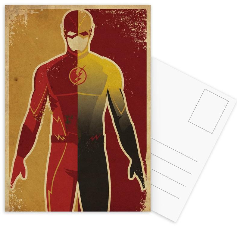 Nursery & Art for Kids, The Flash Postcard Set