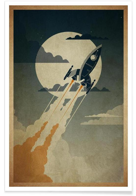 Night Launch poster