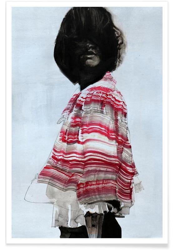 Illustrations de mode, Frange affiche