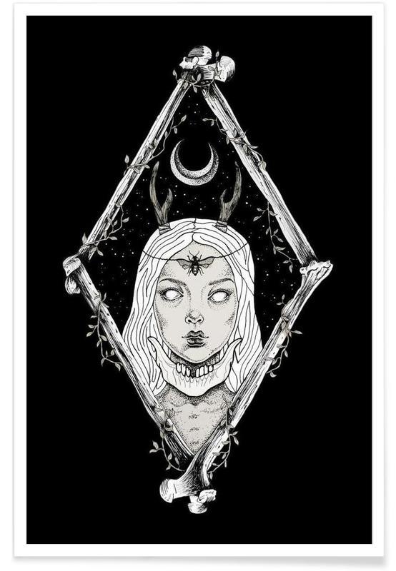 Noir & blanc, Créatures et hybrides, Bones affiche