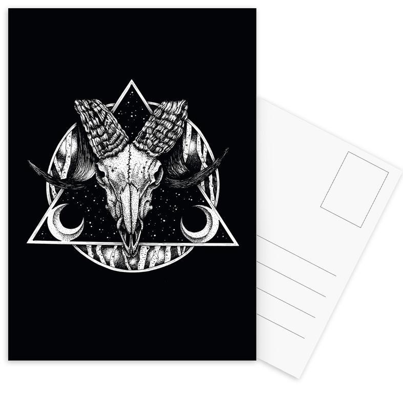 Goat Postcard Set