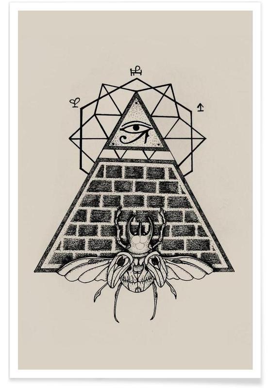 Scarabées, Pyramid affiche