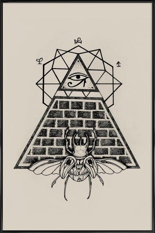 Pyramid Framed Poster