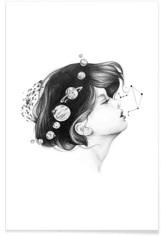 Noir & blanc, Cosmic Matter affiche