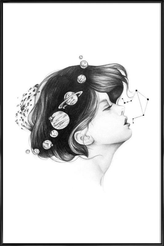 Cosmic Matter ingelijste poster
