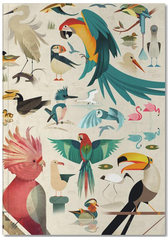 Nursery & Art for Kids, Birds Notebook