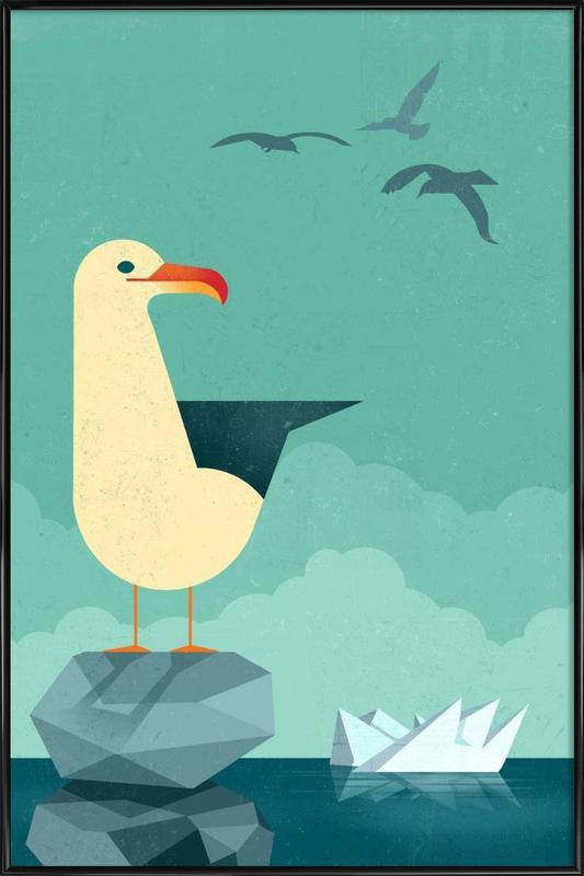 Seagull Framed Poster