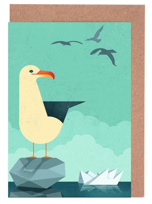 Seagull Greeting Card Set