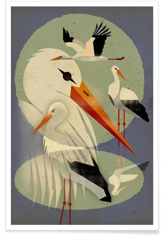 Vintage Storcks Poster