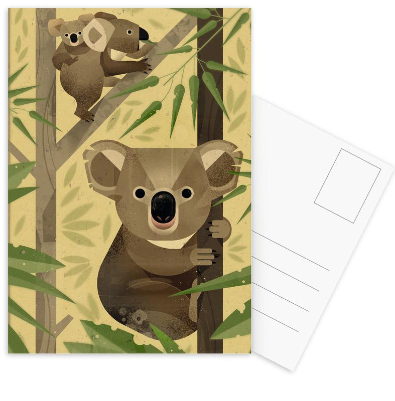 Koala's, Kunst voor kinderen, Koala ansichtkaartenset
