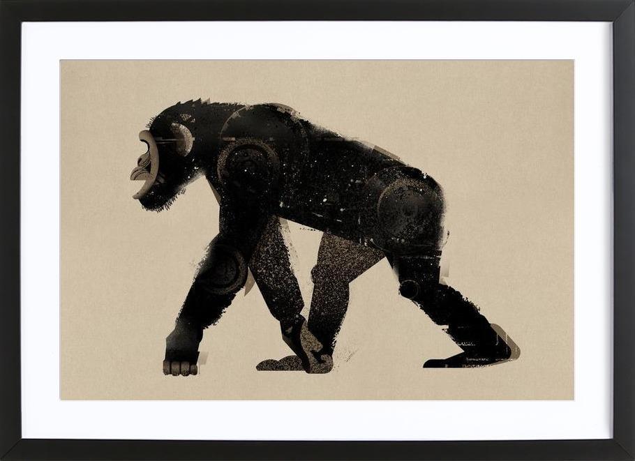 Chimp Framed Print