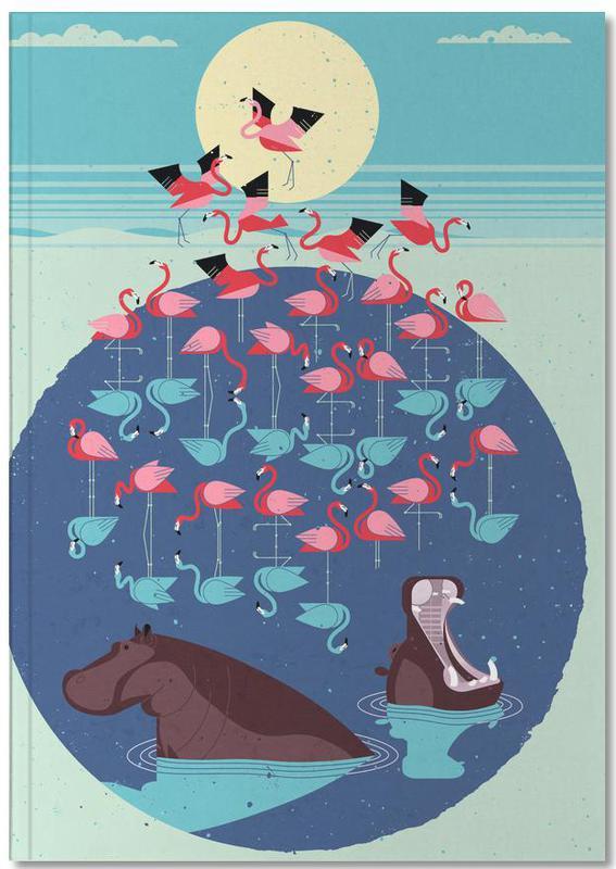 Flamingos, Nilpferde, Flamingos Notebook