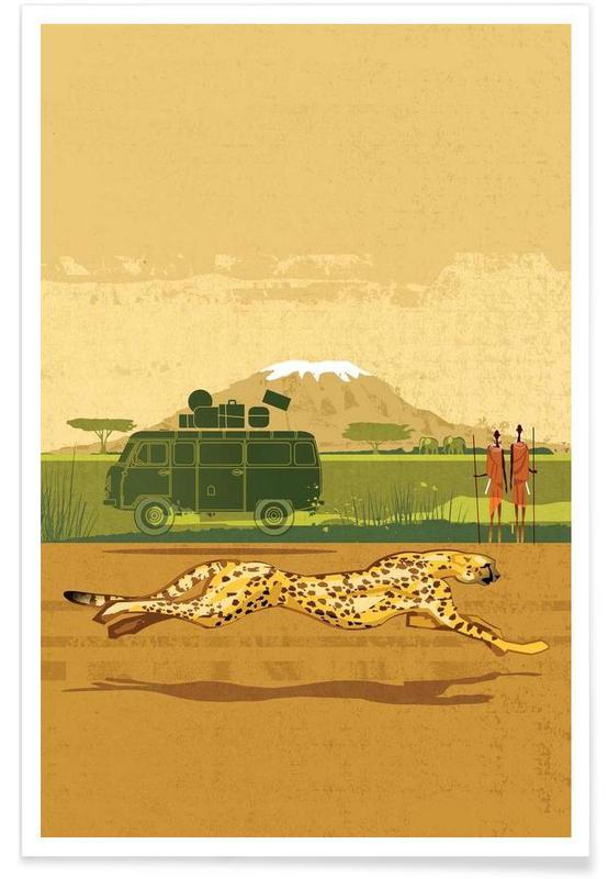Guépards, Cheetah 2 affiche