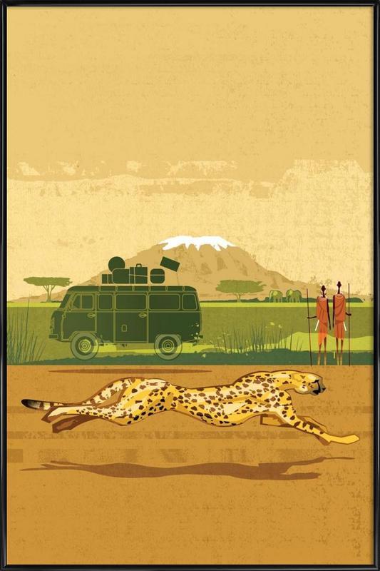 Cheetah 2 Framed Poster