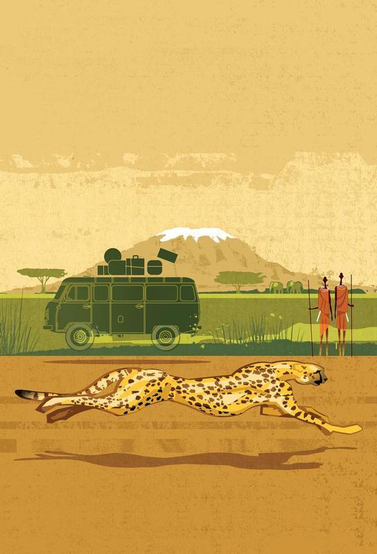 Cheetah 2 Acrylic Print