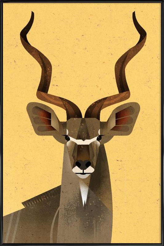 Großer Kudu Framed Poster