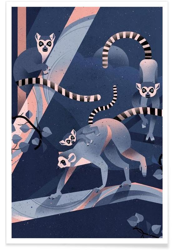 Apen, Katta poster
