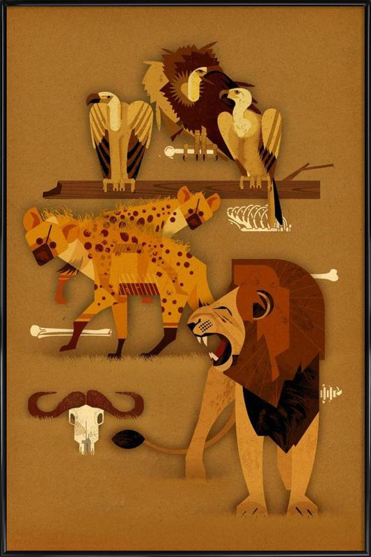 Predators Framed Poster