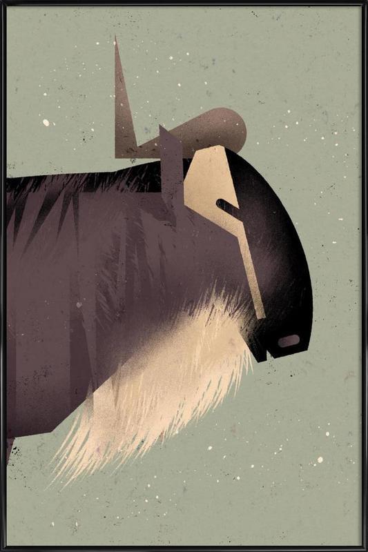 Wildebeast Framed Poster