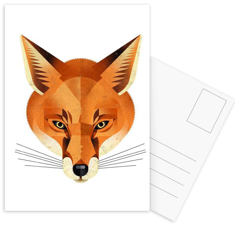 Fuchs Postcard Set