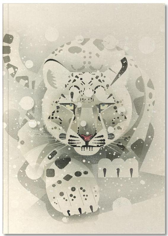 Luipaarden, Schneeleopard Notebook