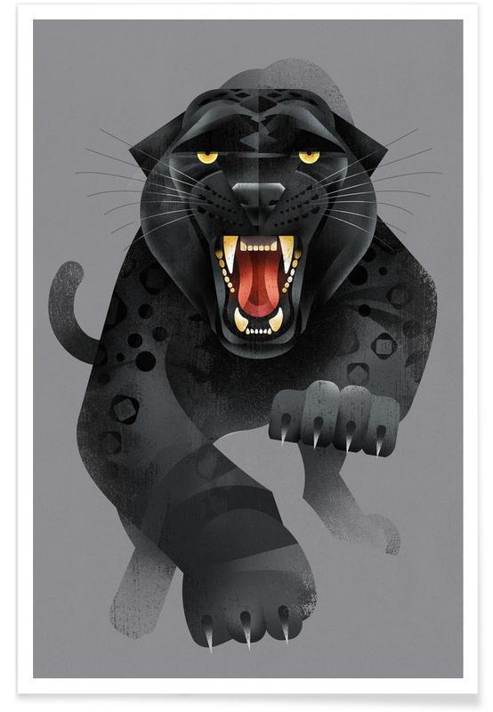 Jaguars, Vintage Jaguar Poster