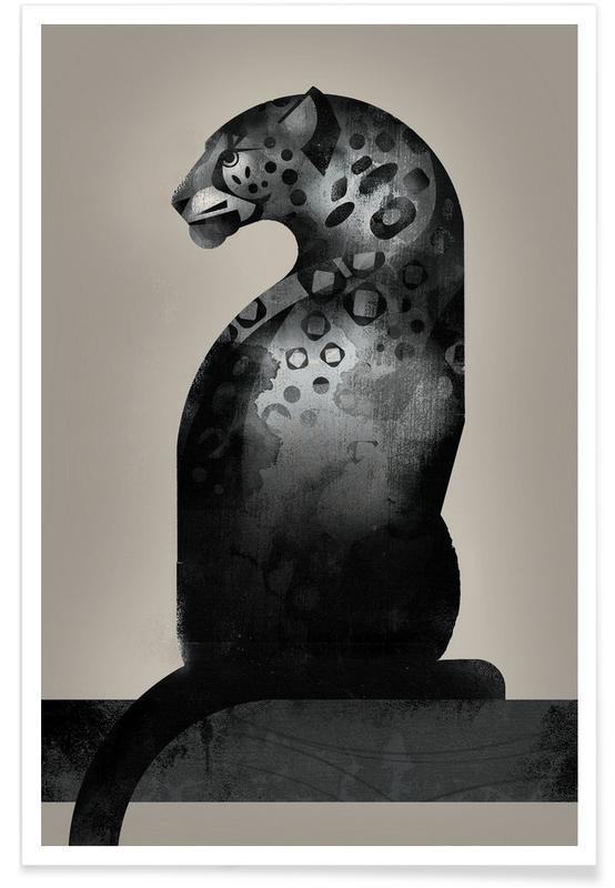 Noir & blanc, Jaguars, Jaguar 02 affiche