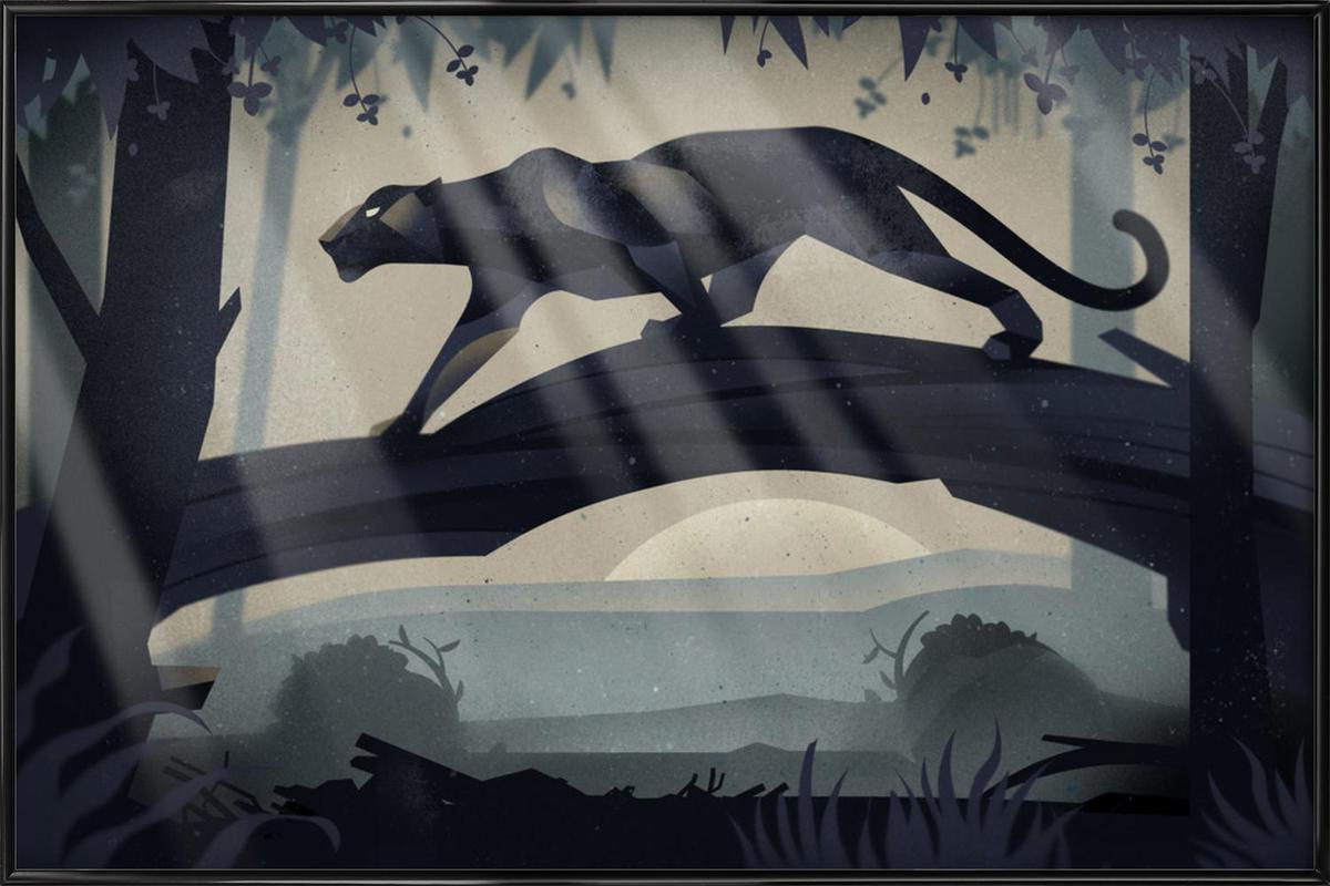 Jaguar 04 Framed Poster