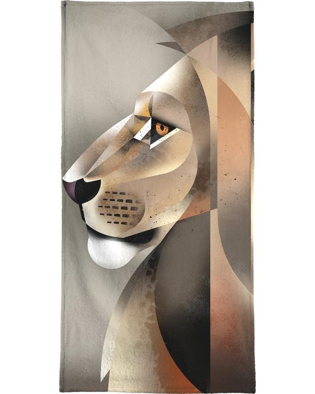 Lion -Handtuch