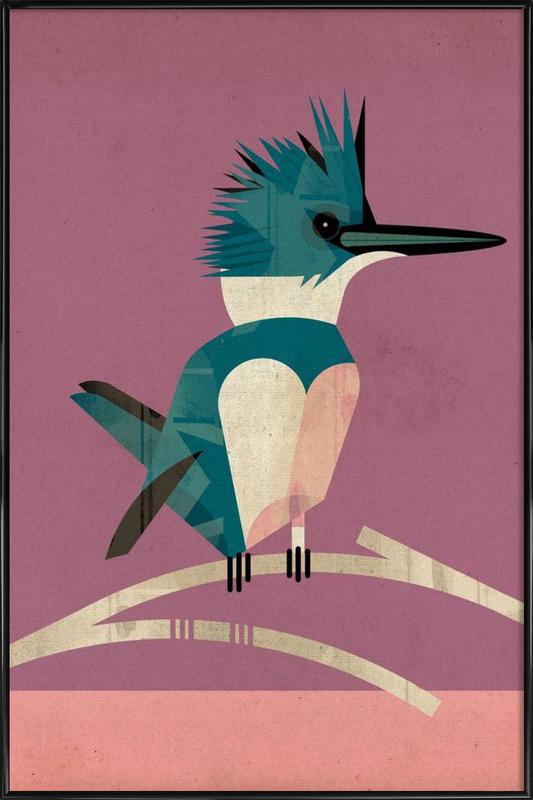 Kingfisher Framed Poster