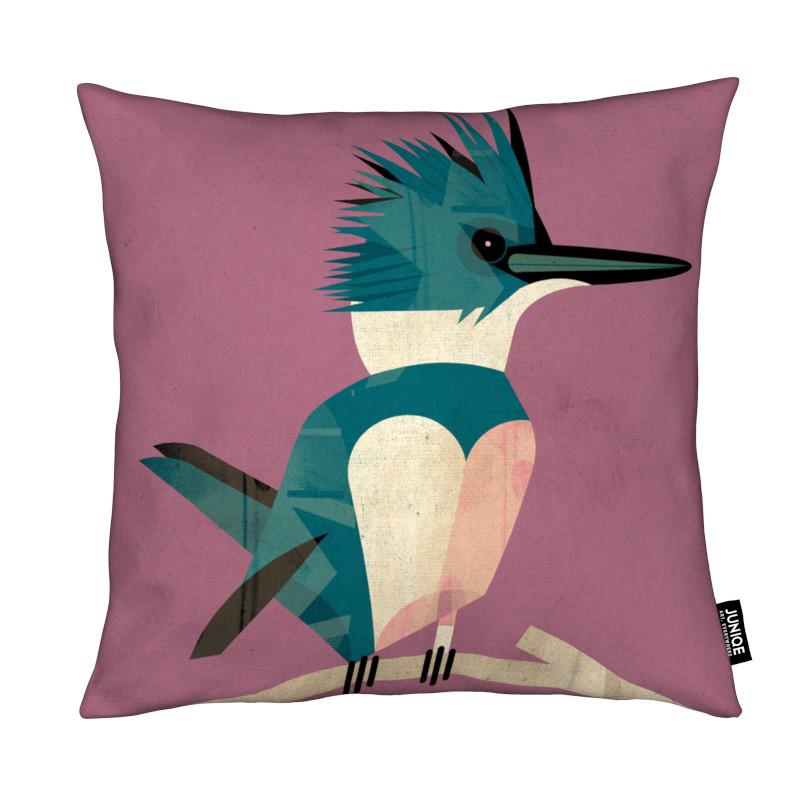 Rétro, Kingfisher coussin