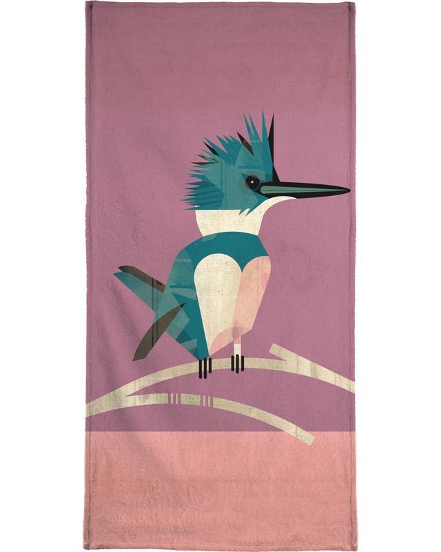 Rétro, Kingfisher serviette de plage