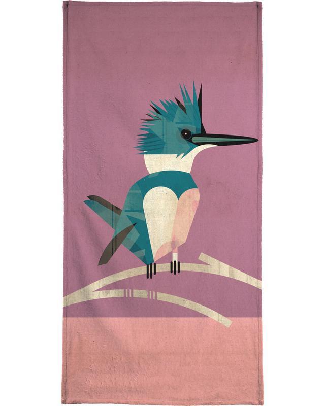 Retro, Kingfisher strandlaken