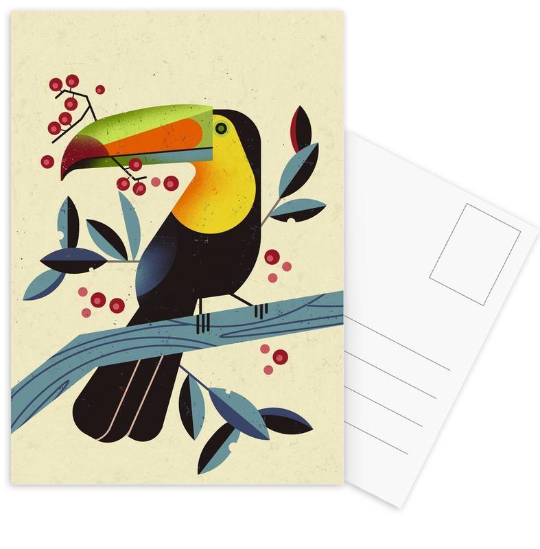 Toucan II Postcard Set