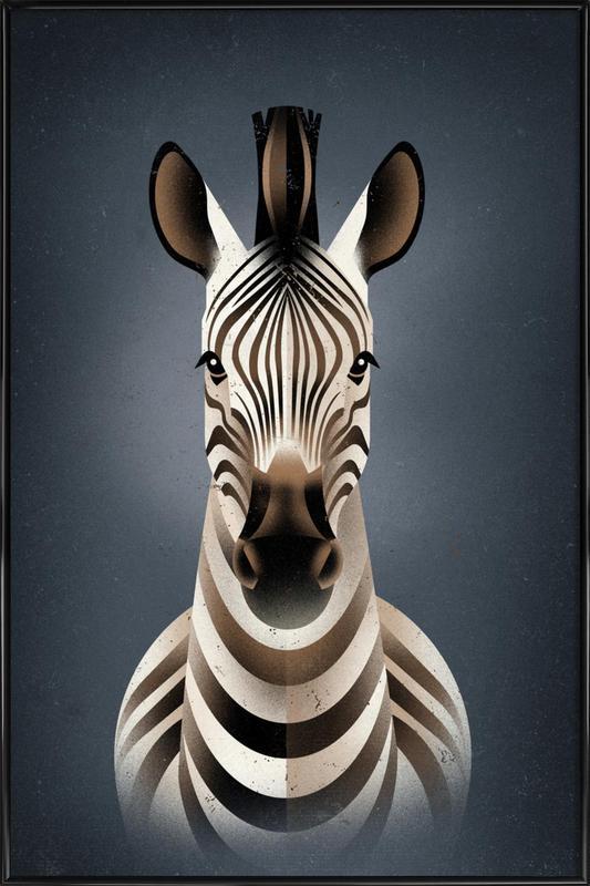 Zebra II Framed Poster