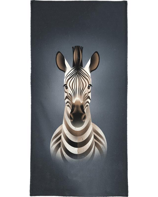 Zèbres, Zebra II serviette de bain