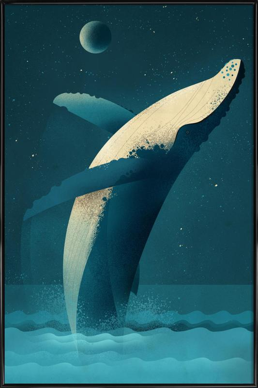 Humpback Whale Framed Poster