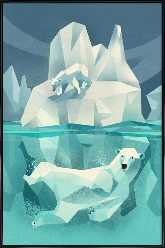 Polar Bear Framed Poster