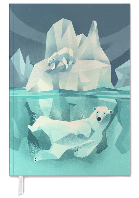 Bears, Nursery & Art for Kids, Polar Bear Personal Planner
