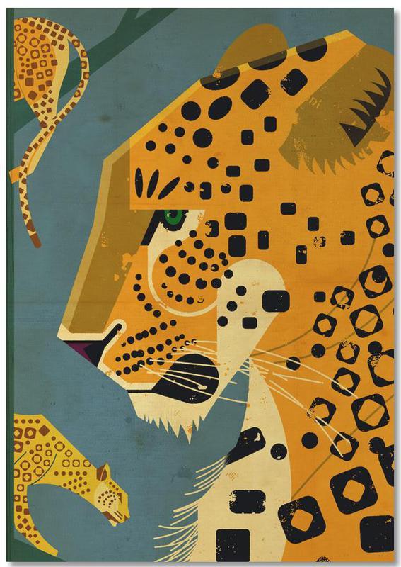 Leopard -Notizblock